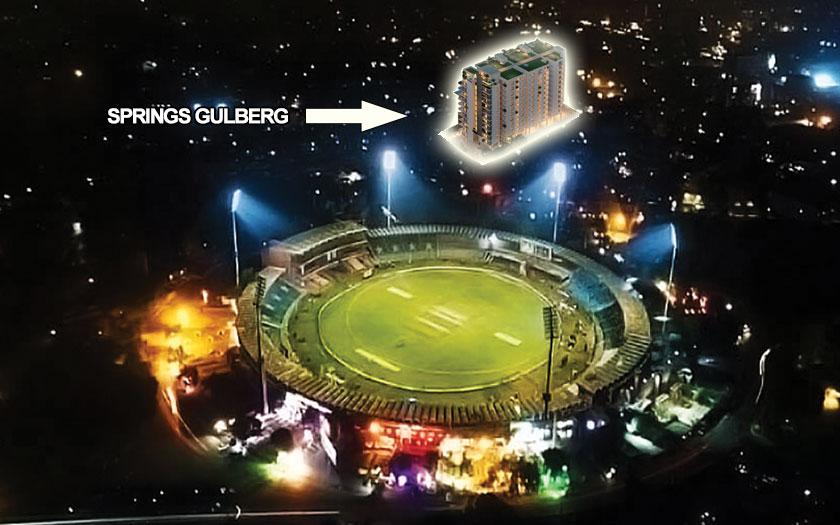 Springs Gulbeg Near Qadaffi Stadium Lahore