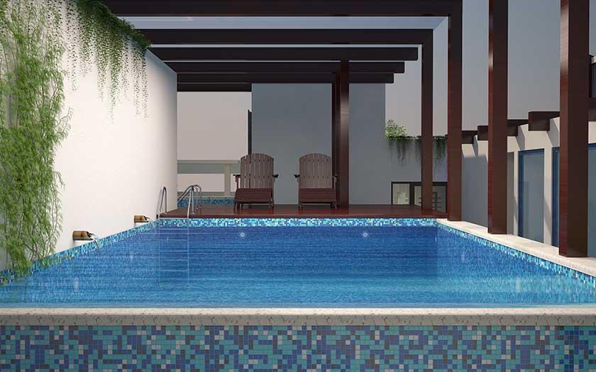 Slide Swimming-Pool