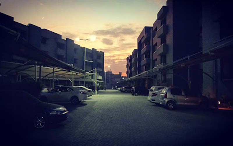Islamabad Project Night View
